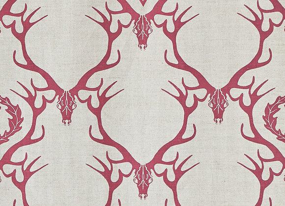 "Deer Damask  - ""Barneby Gates Fabric Collection"""