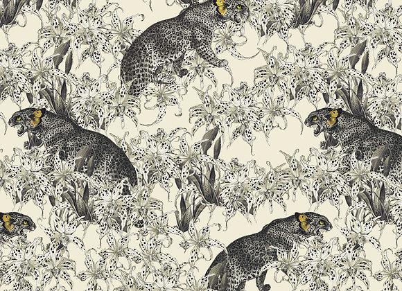 WALLPAPER Leopard's Prowl - Cumin