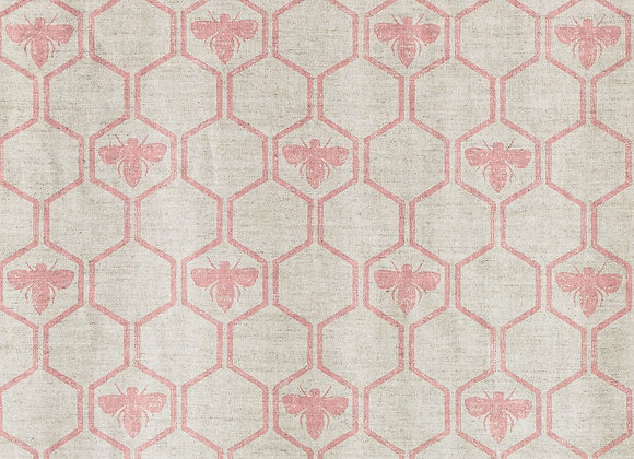 "Honey Bees -""Barneby Gate Fabric Collection"""
