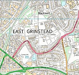 leaflets distribution, Sussex, East Grinstead