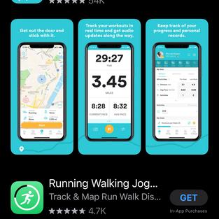Find Runkkeper in your App store