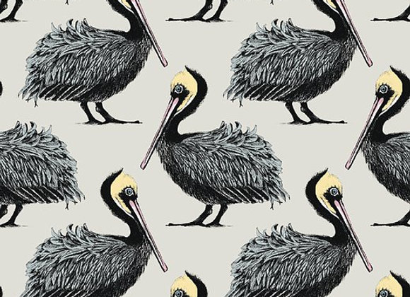 Pelican Fabric - Cotton