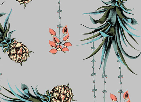 Pineapple and Petals - Fabric