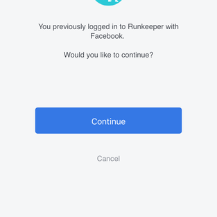 You can sign up with your  Facebook account