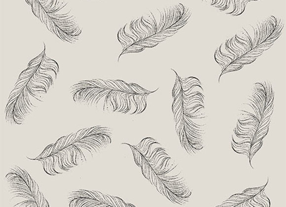Small Feather Fabric - Cotton