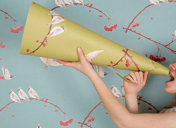 Waxwings Wallpaper