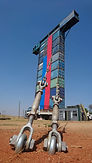 Construction of climbing walls, ropes courses, adventure facilitation equipment