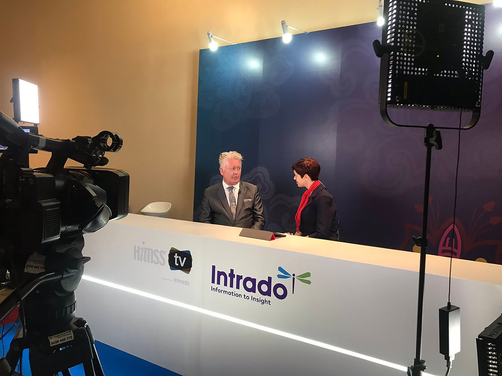 Cylera's Chief Security Strategist in live-stream TV interview from HIMSS AsiaPac19 Conference in Bangkok.