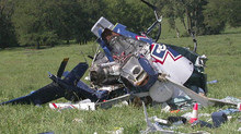 Pilots Safe After Helicopter Crash