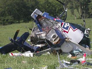 Pilots Safe After Helicopter Crash