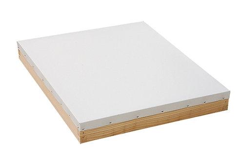 White Aluminum Cover to Prevent Glare