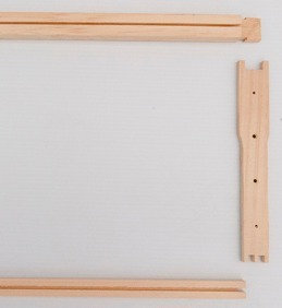 Wood Frame Components (Shallow, Unassembled)