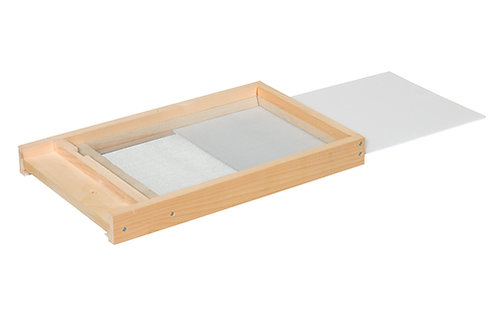 Screened Bottom Board w/Correx Mite Insert
