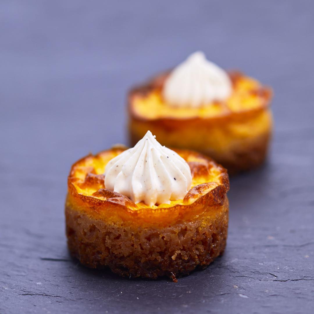 Cheesecakes de potiron