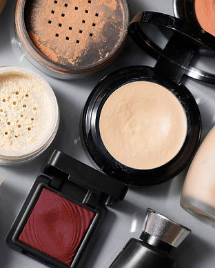 Makeup powder and cosmetics to learn what products to use