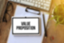 VALUE PROPOSITION _ CONCEPT ON TABLET PC