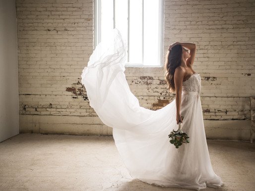 Simple Industrial Styled Shoot