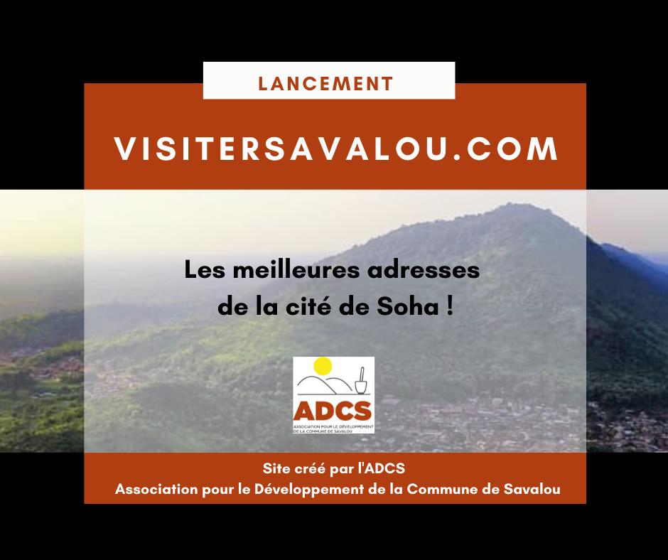Lancement du site visitersavalou.com