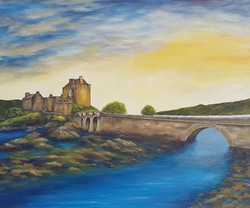 Eilean Donan Castle by Susanne Klimt
