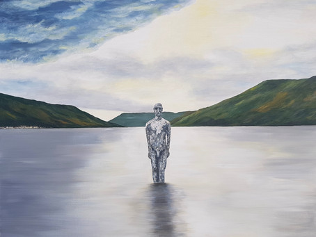 """Self reflection at a magical place - the """"Mirror Man"""""""