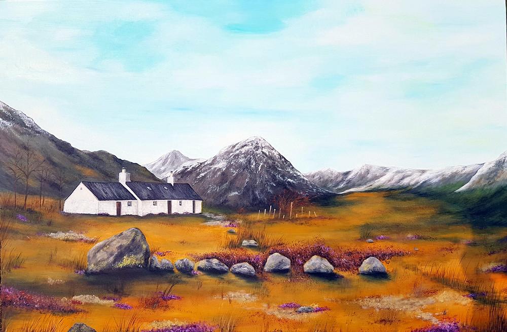 Black Rock Cottage Scotland Copyright Susanne Klimt