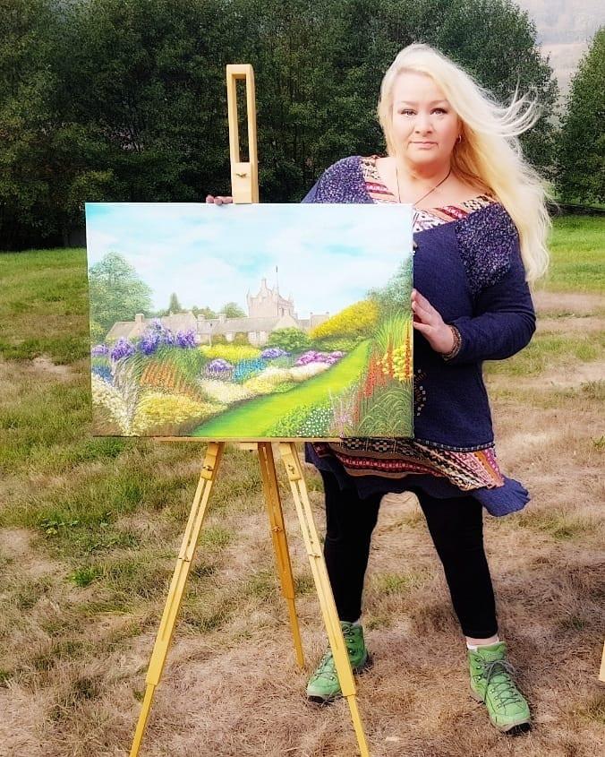 Cawdor Castle Susanne Klimt