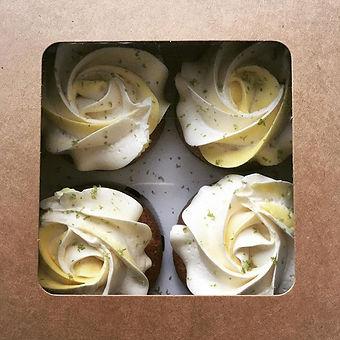GF Lemon & Lime Cupcakes
