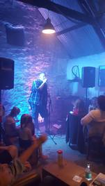 Scott Howe in the Barn Bar for Pam's 60t