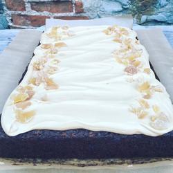 Apple & Ginger Sheet Cake