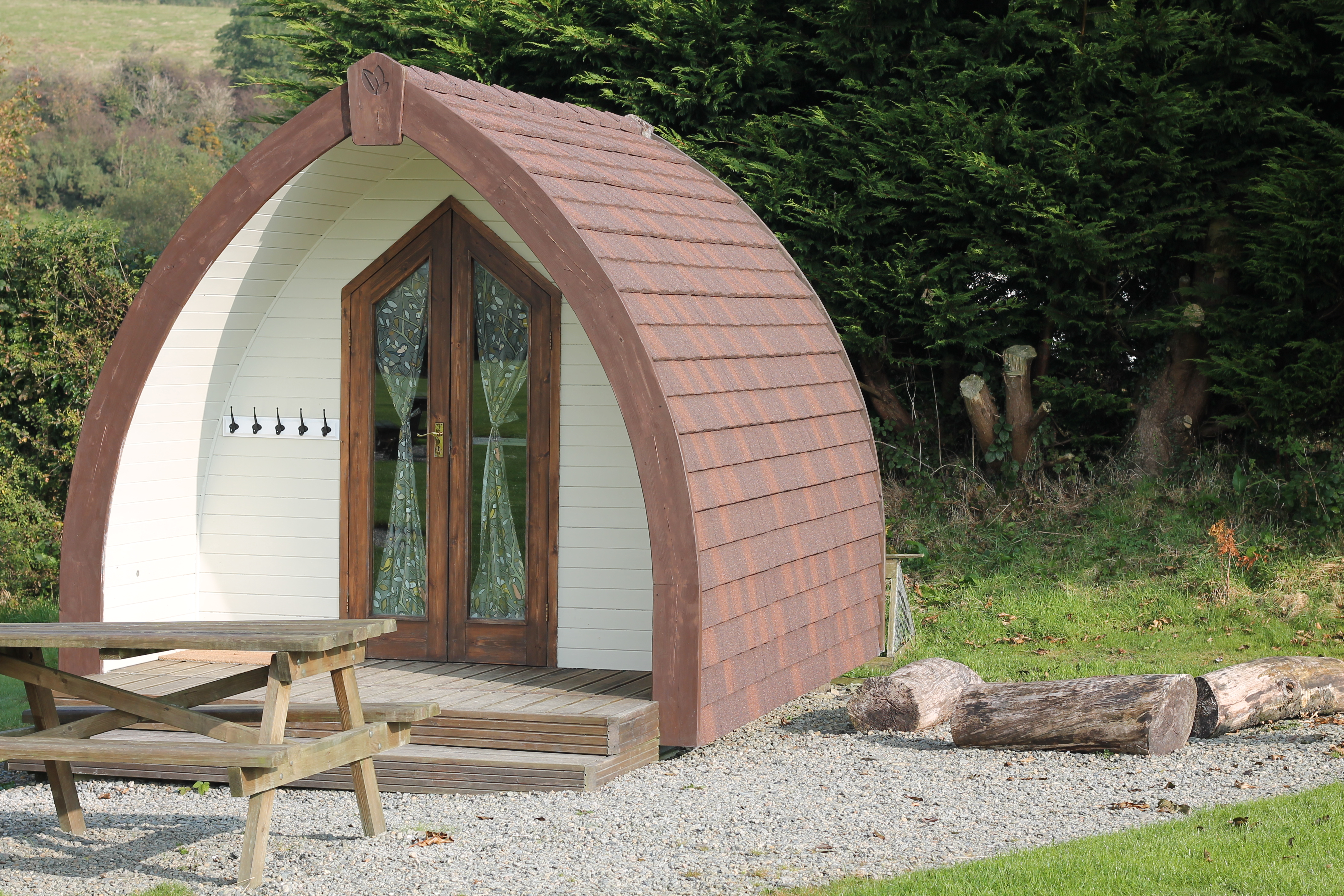 Wooden Camping Pods