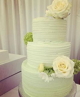 My first wedding cake! What a beautiful beast with layers of choc, lemon & carrot cake.jpg