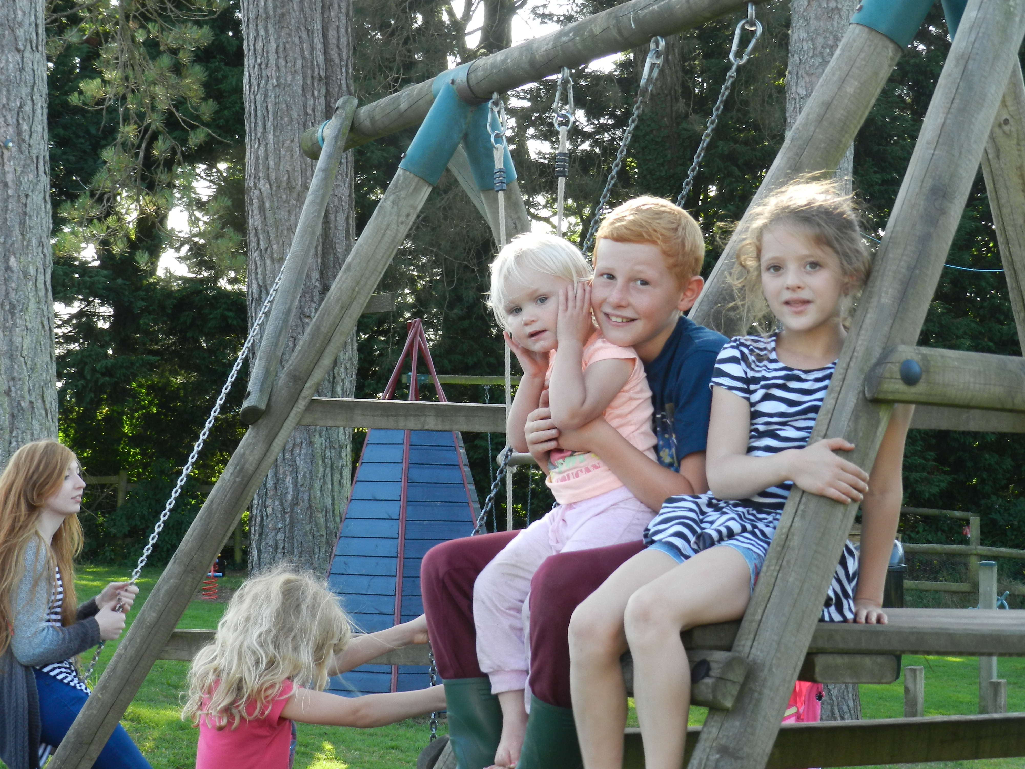 Fun in the play park