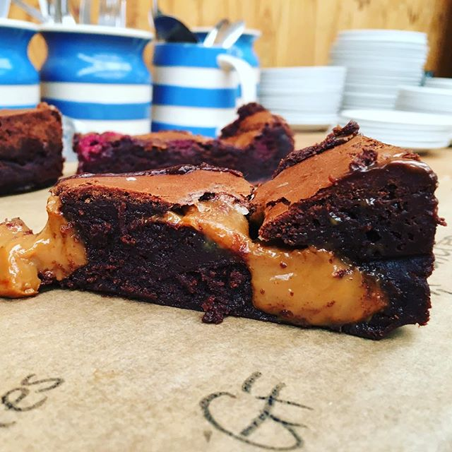 Salted Caramel Brownies (GF)