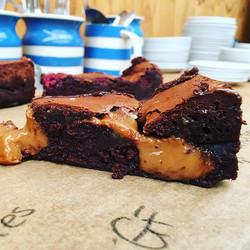 Salted Caramel Brownies (GF)