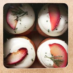 Roasted Peach & Rosemary