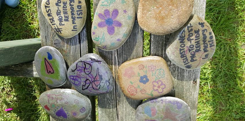 Sticky Club - Making Isla Stones Aug 201