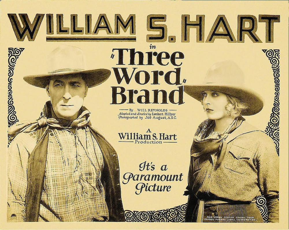 Three Word Brand (1921) Poster