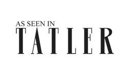 AS SEEN IN TATLER