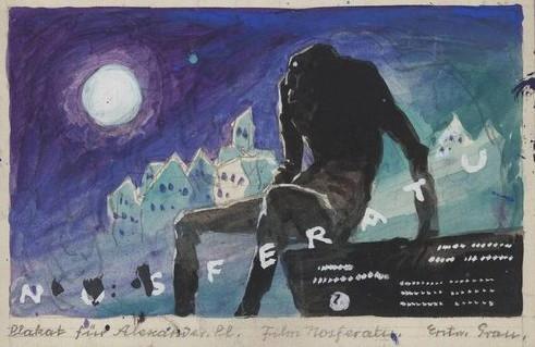 Albin Sketch Nosferatu