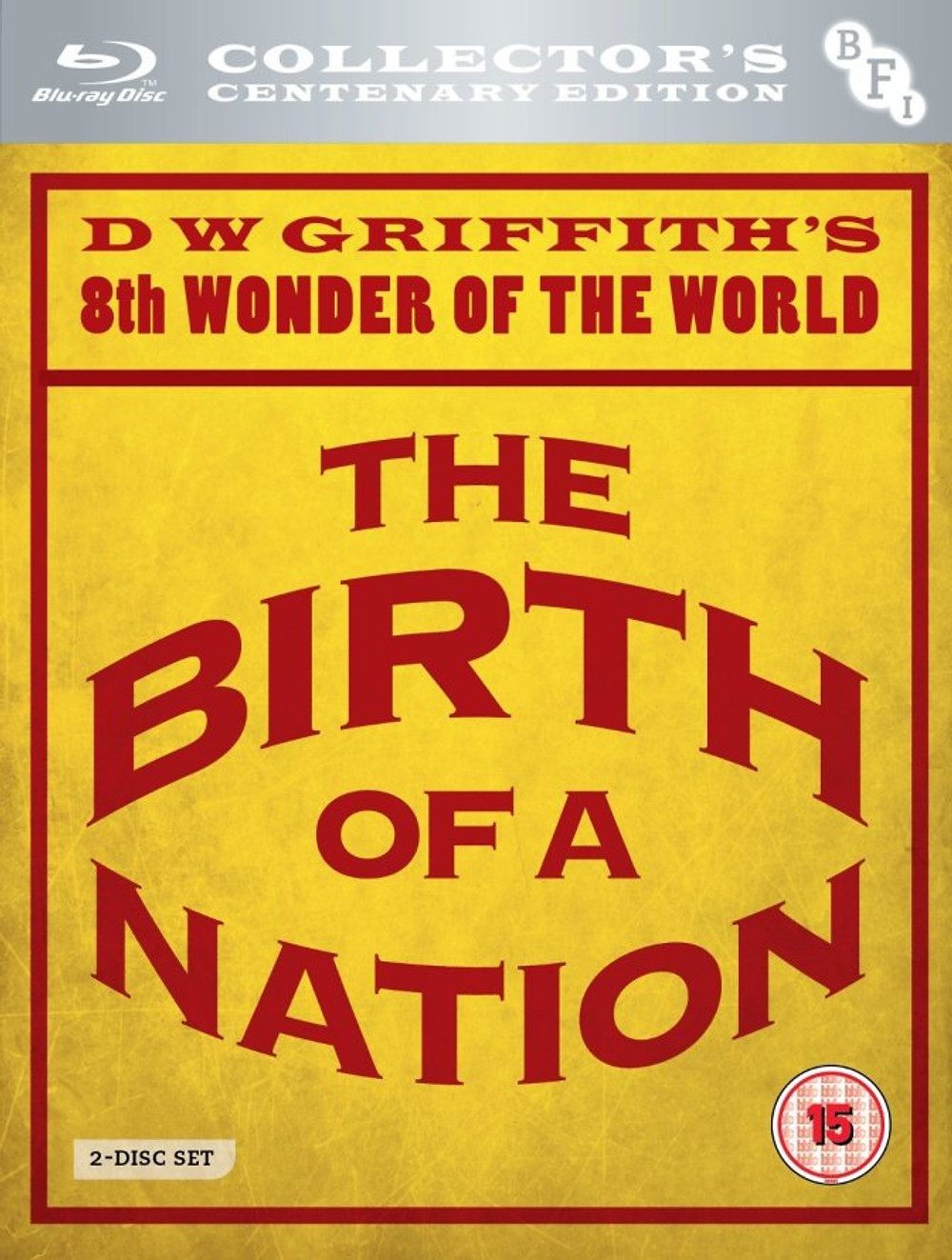 Birth of a nation bfi bluray cover