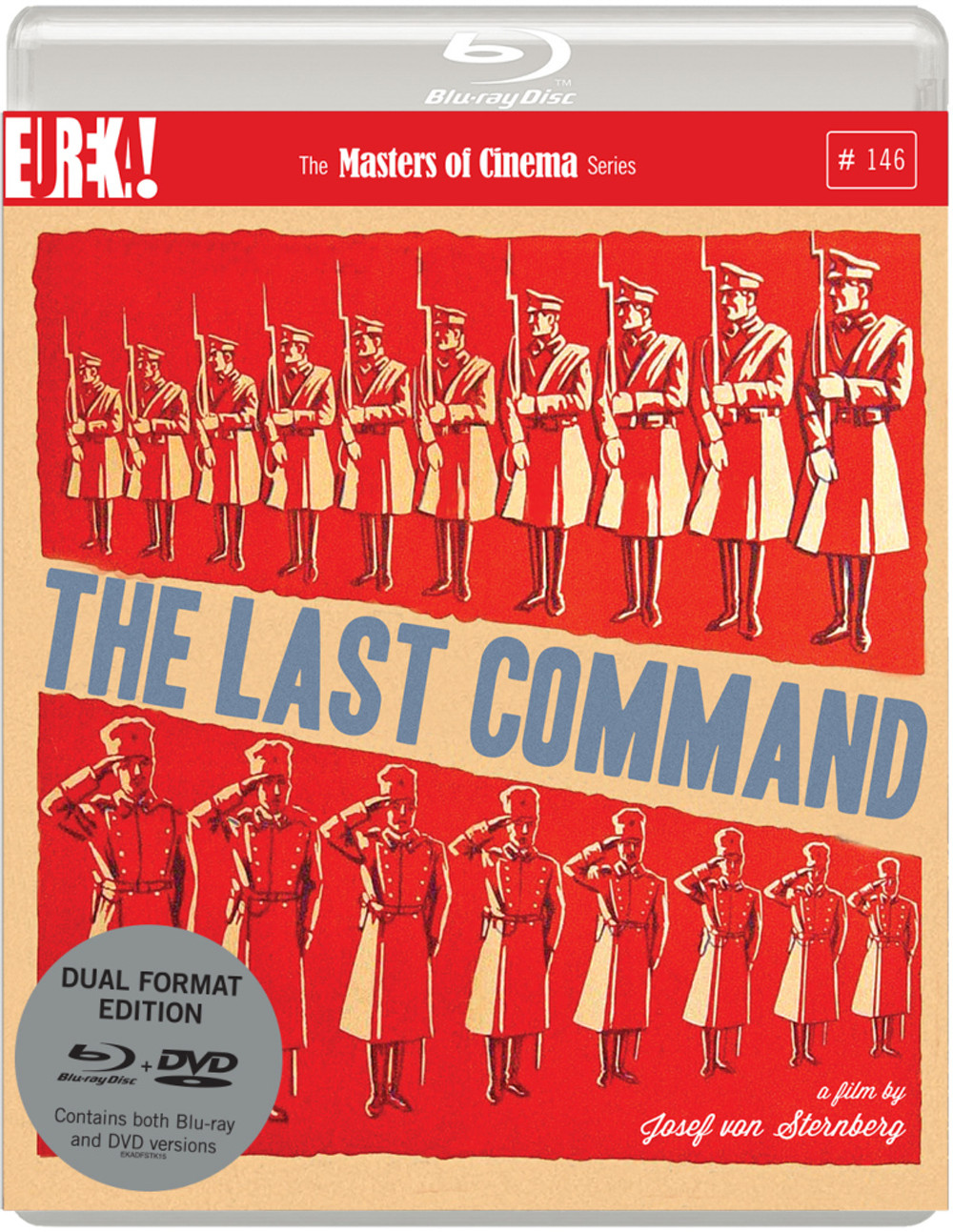 Last Command - Masters of Cinema pack shot