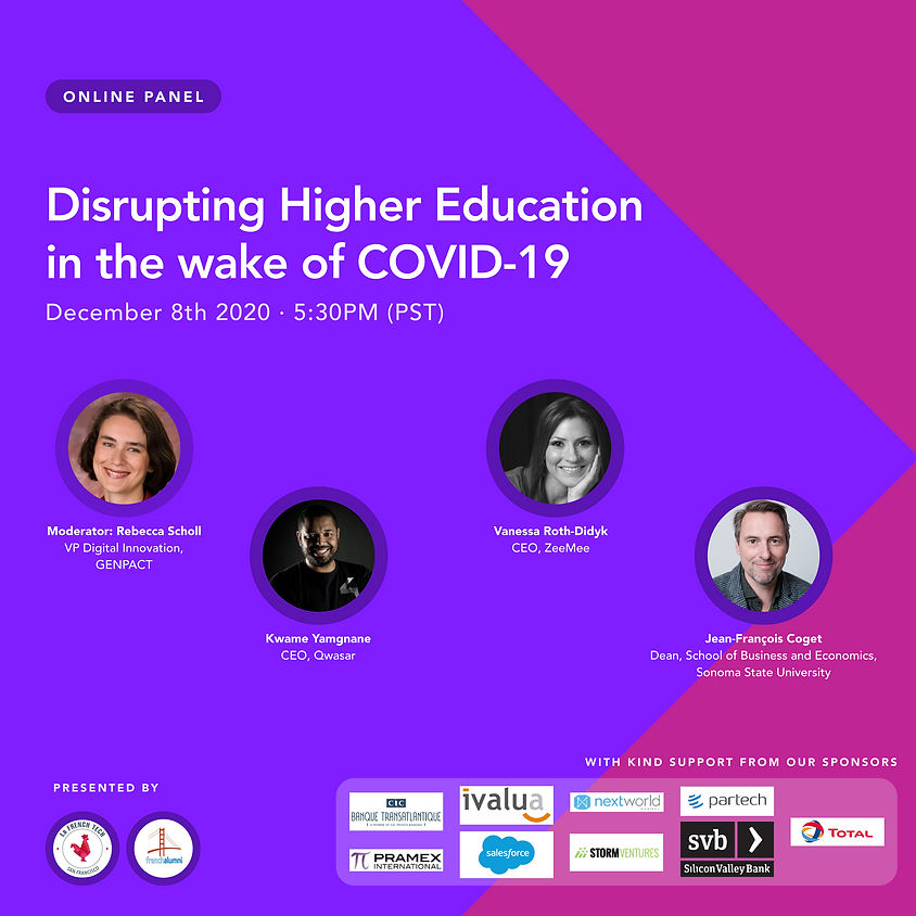 Disrupting Higher Education in the wake of COVID-19