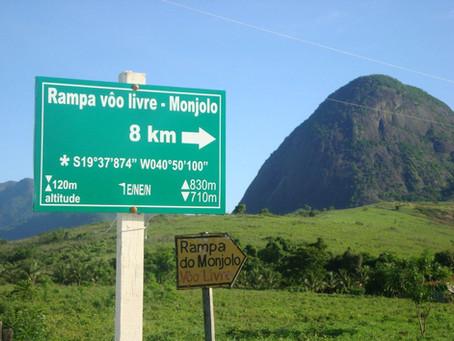 Estrada de acesso ao Monjolo