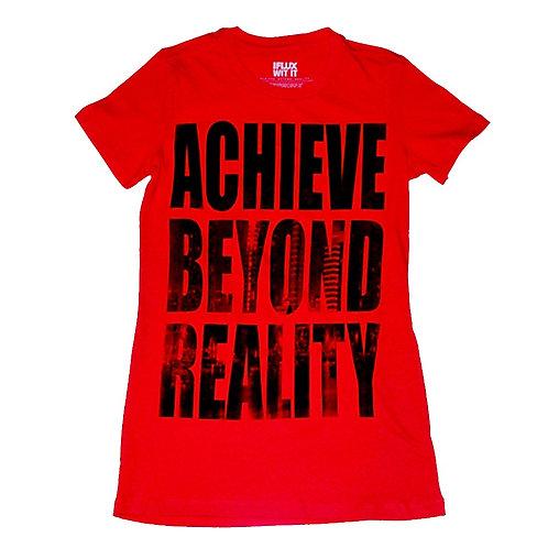 "IFWI ""Achieve Beyond Reality"" Tee (Women)"
