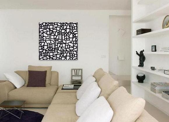 Black Maze 120x120