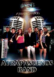 Cartel componentes Atrapasueños Band Orquesta