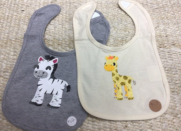Basic Baby Bibs and Onesies