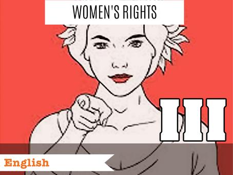 Women's Rights III