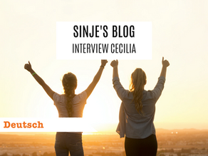 Sinje's Blog: Interview Cecilia
