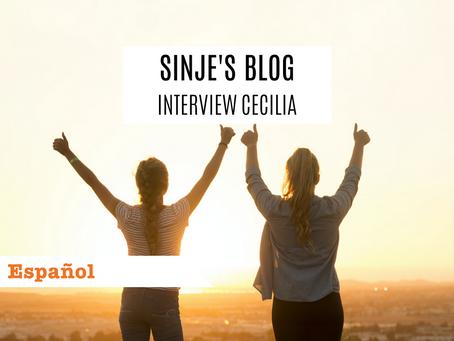 Sinje's Blog: Interview Cecilia